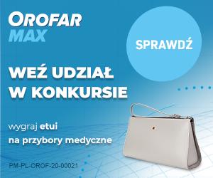 Konkurs Orofar MAX