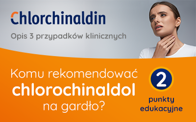 Komu rekomendować chlorochinaldol na gardło?