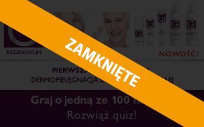 Konkurs z marką Pharmaceris REGENOVUM!