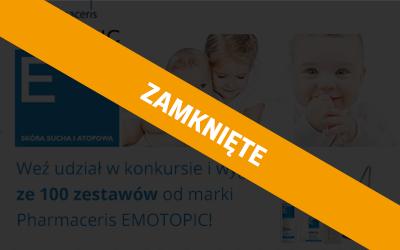 Konkurs z marką Pharmaceris EMOTOPIC