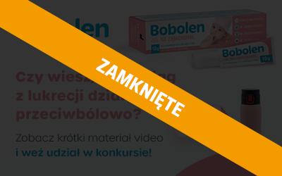 Konkurs Bobolen, żel na ząbkowanie