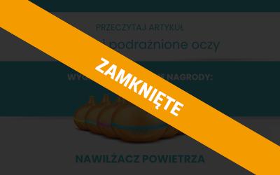 Konkurs Starazolin Suche i Podrażnione Oczy