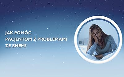 Szkolenie za 2 punkty miękkie! Jak pomóc pacjentom z problemami ze snem?