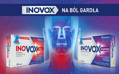 Inovox na ból gardła